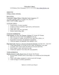 Culinary Cover Letter Download Culinary Resume Templates Cooking
