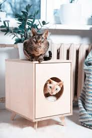 choose stylish furniture small. cat litter box cover pet house hideaway scandinavian style furniture modern cabinet gift for a lover choose stylish small o