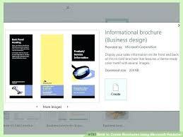 Quad Fold Brochure Template Word Templates Brand Standard 4 Fold Brochure Template Publisher Psd