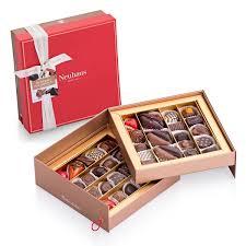 neuhaus belgian pralines luxury tiered gift box 40 pcs