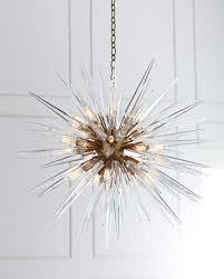 at horchow visual comfort quincy medium 20 light sputnik pendant