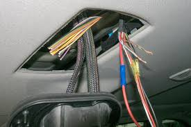 the fix it blog sorting things out bmw 535xi touring e61 right hand side cable splicing in the speaker opening