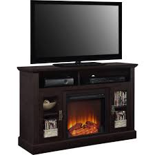 oak tv stand with fireplace tv stand with fireplace shay corner tv stand with