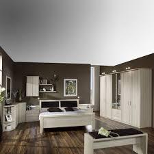 Wiemann Luxor 34 Schlafzimmer Bett Drehtürenschrank 2 Nachtkommoden