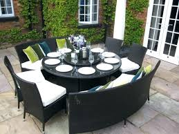 round patio furniture ultimate outdoor dining table set also elegant sets fabulous luxury pub and