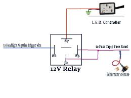 4 wire relay diagram neg trigger 4 automotive wiring diagrams description diagram wire relay diagram neg trigger