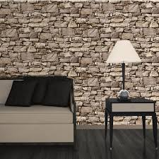MURIVA-BRICK-EFFECT-WALLPAPER-VARIOUS-COLOURS-AVAILABLE-FEATURE-