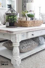 french country square coffee table