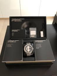 Porsche Design P6340 Review Porsche Design P6340 Flat Six Automatic Chronograph For
