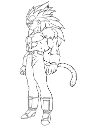Dragon Ball Z Coloring Pages Free Color Bros
