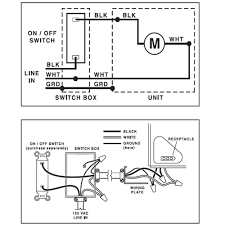 broan bathroom fan wiring diagram broan qtr080 ultra silent 80cfm vent fan online