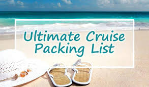 Cruise Packing Checklist Template What To Pack For A – Omgoods