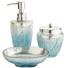 blue glass bathroom accessories. Vanity Best 25 Turquoise Bathroom Accessories Ideas On. Attractive Blue Glass E