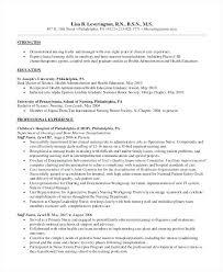 Sample Resume For Nursing Student Inspiration Sample Resume For Nurses With Experience Pediatric Nurse Resume