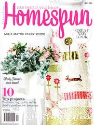 Craft - Patchwork And Quilting Magazine subscriptions - Want to ... & Australian Homespun Magazine from AU$79.95 Adamdwight.com