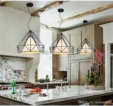 cage pendant lighting. Vintage Chandelier Industrial Ceiling Light Bird Cage Pendant Lighting For Kitchen Dining Room Bar Hallway Art Diamond Pyramid Lamp Hanging E