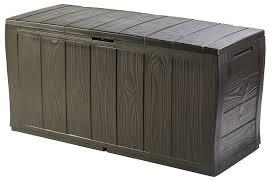 Furniture Box Keter Sherwood Outdoor Plastic Storage Box Garden Furniture 117 X
