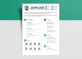 Free Psd Resume Cv Template For Webmasters Front End Developers