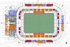 Bbva Compass Stadium Houston Seating Chart Bbva Compass Stadium Populous Archdaily