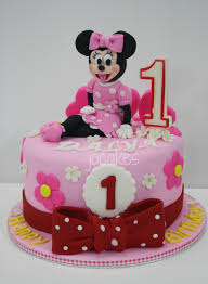 10 Minnie Mouse Birthday Cakes For Girls Photo Minnie Mouse 3