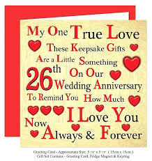 38th wedding anniversary gift card beautiful our 2 set fridge party ideas