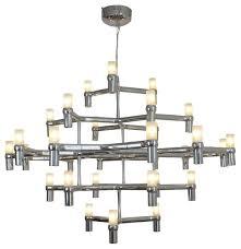 the grand jewel 30 light modern suspension candelabra chandelier led