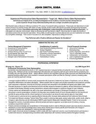 Awesome Collection of Resume Sample For Sales Representative For Your Format