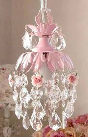 chandelier for baby girls room dreamy pink mini chandelier with roses precious for nursery or little chandelier for baby