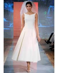 tea length wedding dresses fall 2013 martha stewart weddings