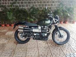 triumph street scrambler launched in india at rs 8 10 lakh the