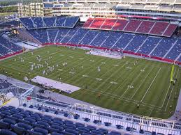 Gillette Stadium View From Upper Level 327 Vivid Seats