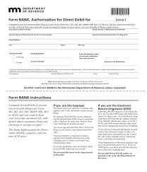 Direct Debit Form 10+ Bank Authorization Forms - PDF