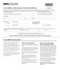 Direct Debit Form 10+ Bank Authorization Forms - PDF