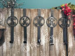 Metal Monogram Wreath Holder - Wreath Hanger - Door Hanger ...