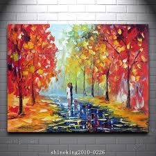 best acrylic paint for canvas beautiful colorful palette knife oil painting with acrylic paint on canvas