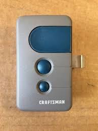 craftsman 3 function garage door opener remote control 53681b 139 53681b