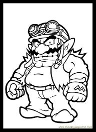 Mario Bros 3 Coloriage Super Mario Coloriages Pour Enfants