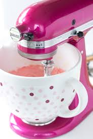 Pink Kitchen Aid Mixer Enter To Win A Kitchenaid Raspberry Ice Stand Mixer And Pink Polka