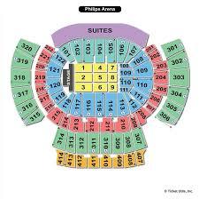 Philips Arena Atlanta Ga Seating Chart View