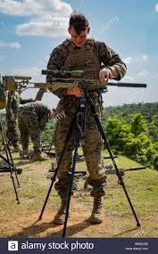 Marines Scout Sniper Requirements Cpl Kevin Mcdonald A Scout Sniper With Weapons Co