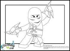 Small Picture Zane Ninjago coloring pages for kids printable free Coloring