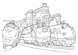Small Picture Action Chugger and Brewster and Chatsworth of Chuggington Coloring