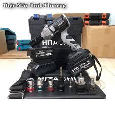 🛠Máy Khoan Pin HITACHI 118V ✓ Các Bác Có... - Máy Khoan Đa Năng - Điện Máy