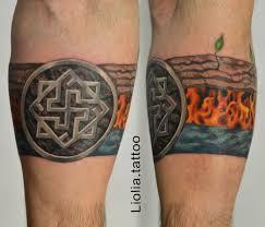 Deadcrush Lioliatattoo оберег огонь вода Tattoo тату Fire