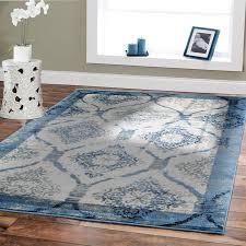 inspirational blue gray area rug