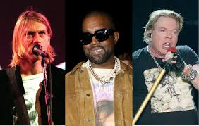 Kanye West weighs up who's better out of <b>Guns N</b>' <b>Roses</b> and Nirvana