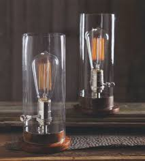Table lamps lighting Tall Nova68 Classic Glass Edison Period Tungsten Filament Table Lamp Nova68com