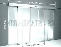 pocket door widths pocket door widths standard sliding glass door standard sliding glass door size curtains