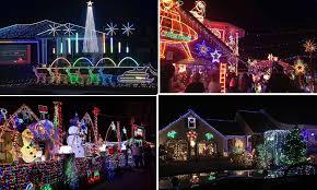 Kanji Loop Christmas Lights 2017 Australian Homes Light Up For Spectacular Christmas Displays