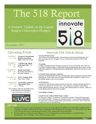The 518 Report — Innovate 518